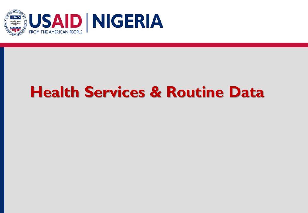 Health Services & Routine Data