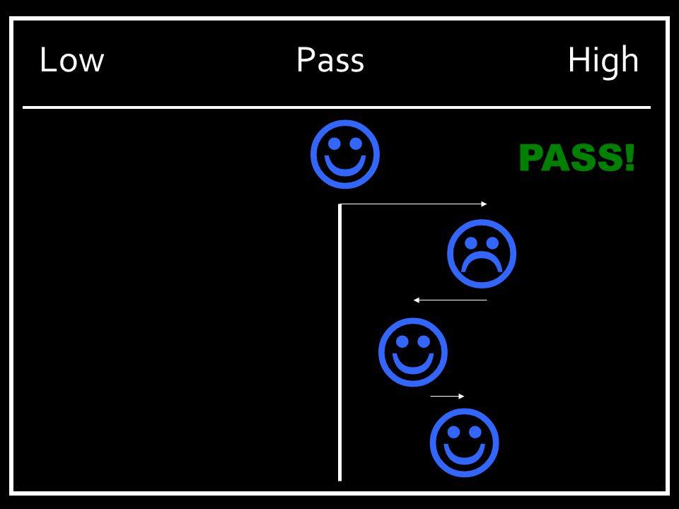 LowPassHigh PASS! 