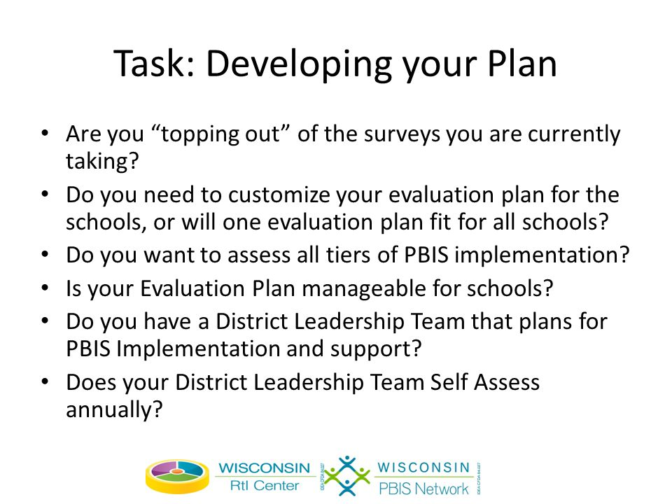 Task: Developing your Plan Are you topping out of the surveys you are currently taking.