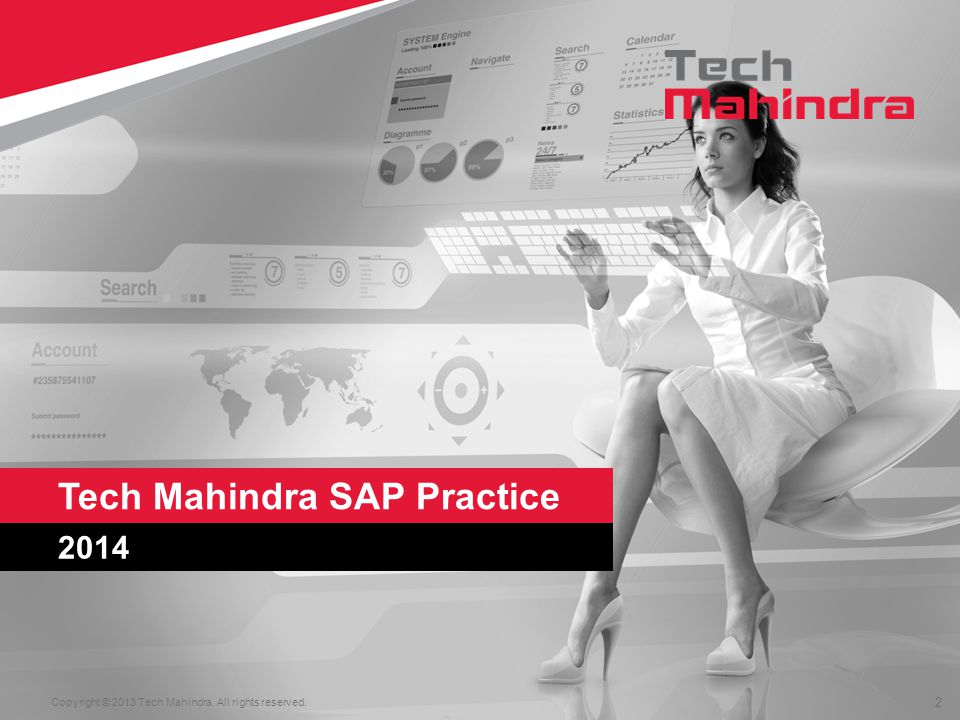 2 2014 Tech Mahindra SAP Practice