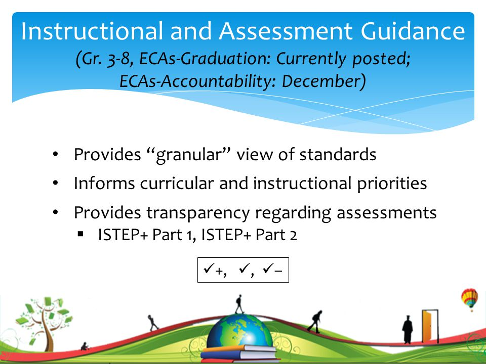 Instructional and Assessment Guidance (Gr.