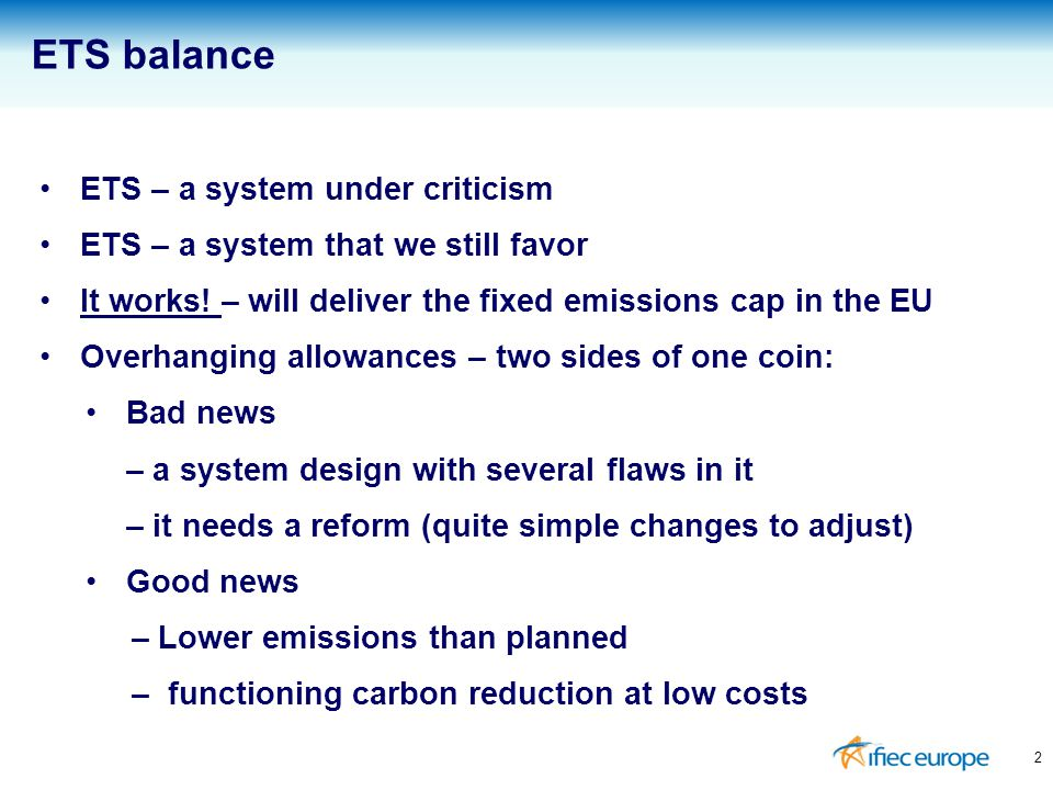 ETS is a door-opener to a global climate change policy approach Could safeguard level playing field A precondition for EU industry's competitiveness and ability to strengthen EU economy in order to overcome current crisis Objective: Make ETS an attractive climate change policy approach for other countries/regions 3 Industry in need for a global approach