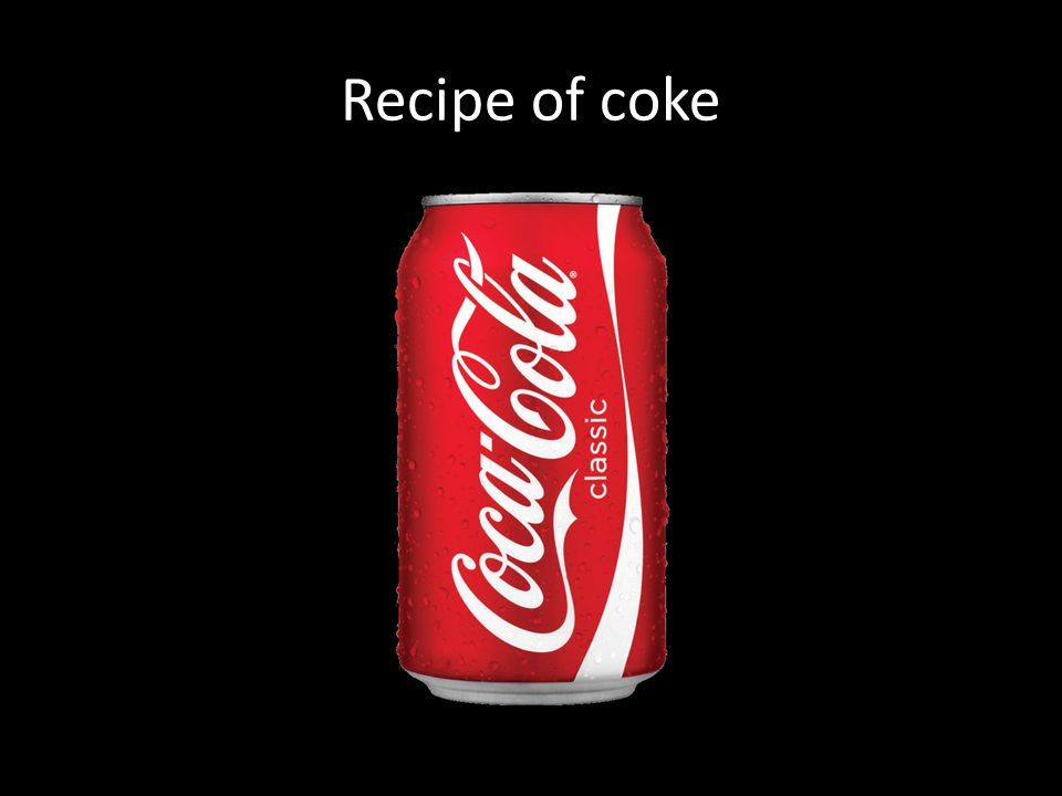 Recipe of coke