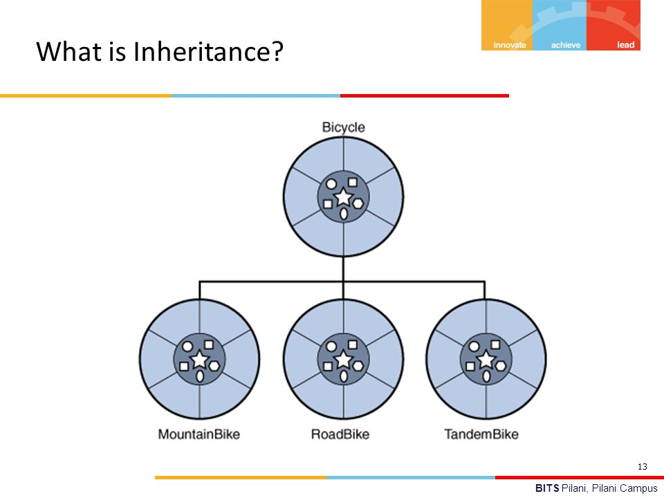 BITS Pilani, Pilani Campus What is Inheritance? 13