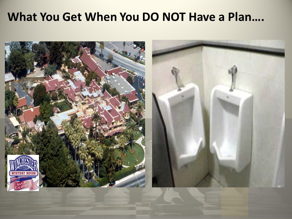 What You Get When You DO NOT Have a Plan….