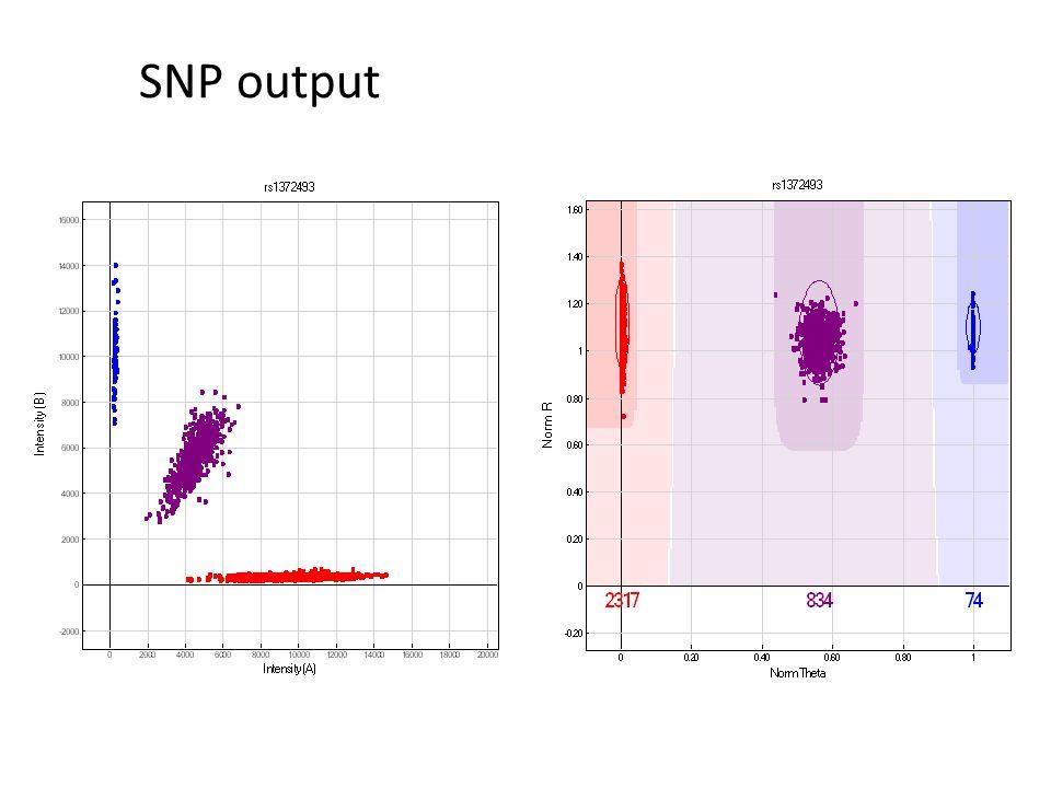 SNP output