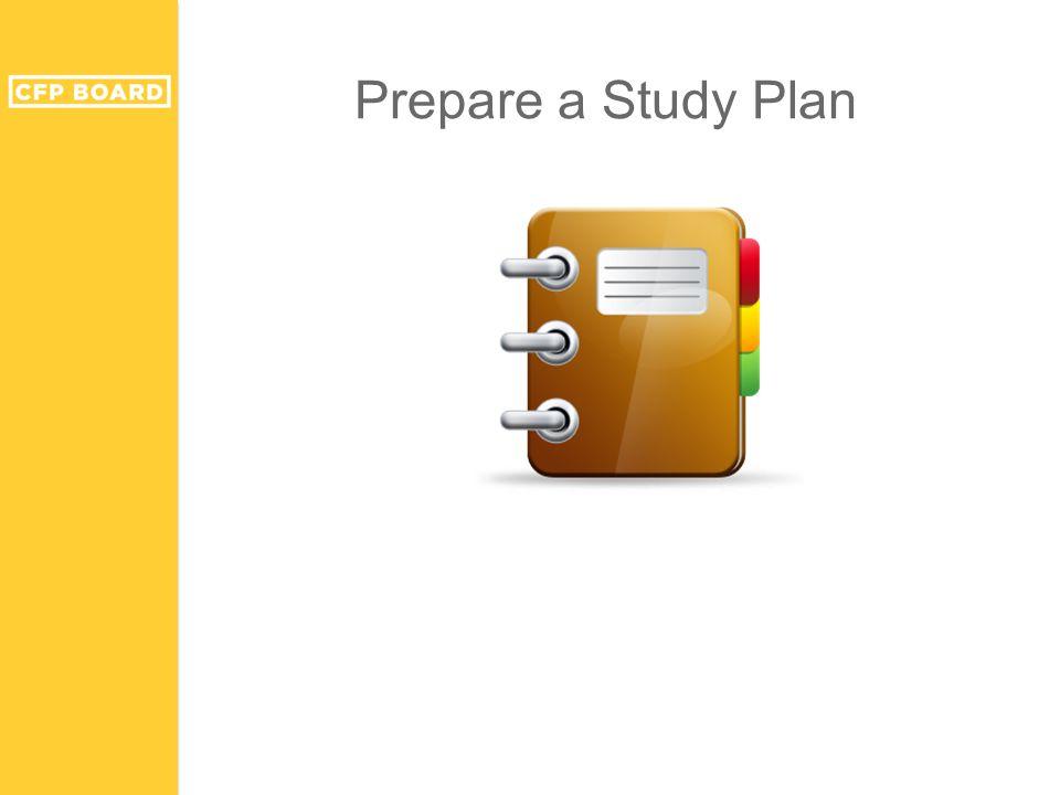 Prepare a Study Plan