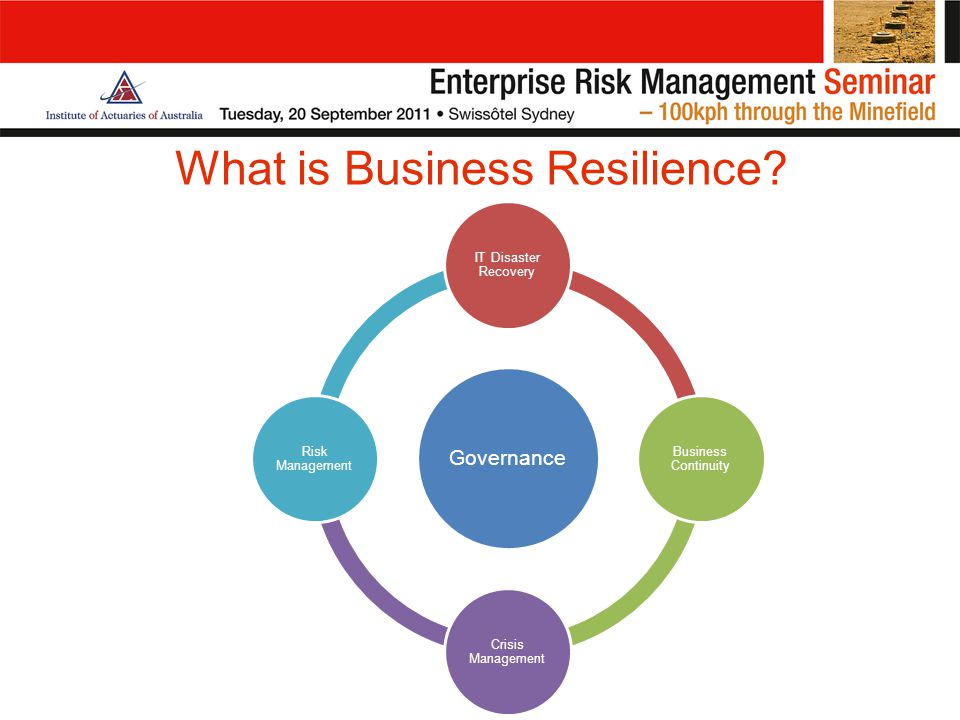 What is Business Resilience.