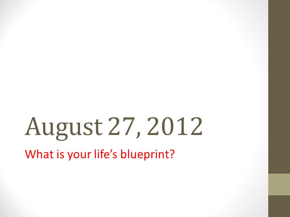 Agenda for August 27, 2012 Warm Up: Journal Response to Image STEMS Close reading of Blueprint Speech by M.L.