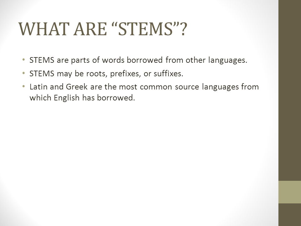 How can STEMS help me.