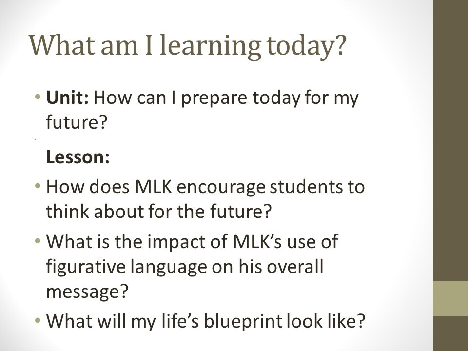 How will I show what I learned.
