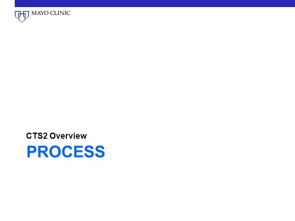 PROCESS CTS2 Overview