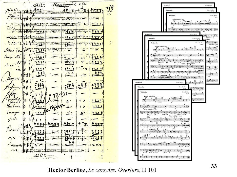 33 Hector Berlioz, Le corsaire, Overture, H 101