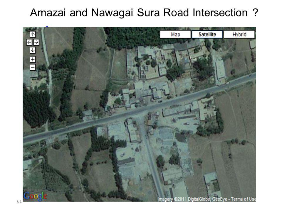 61 Amazai and Nawagai Sura Road Intersection