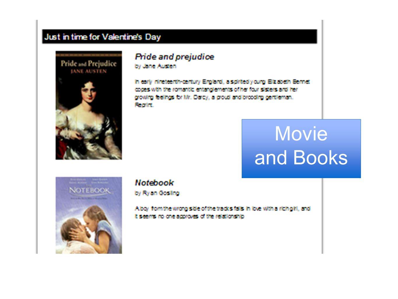 Movie and Books