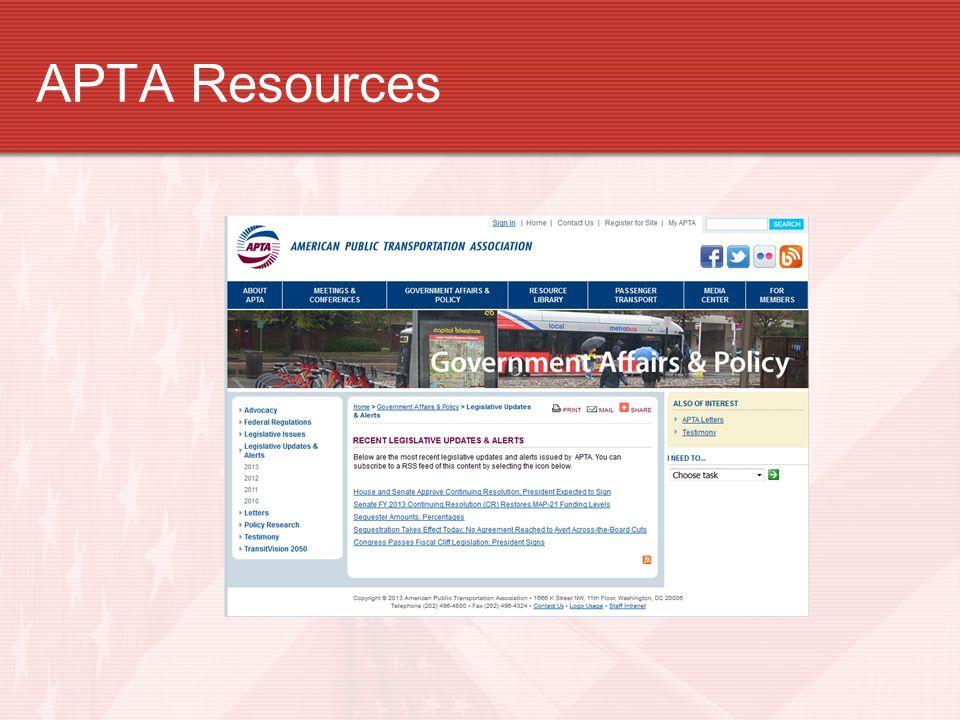 APTA Resources