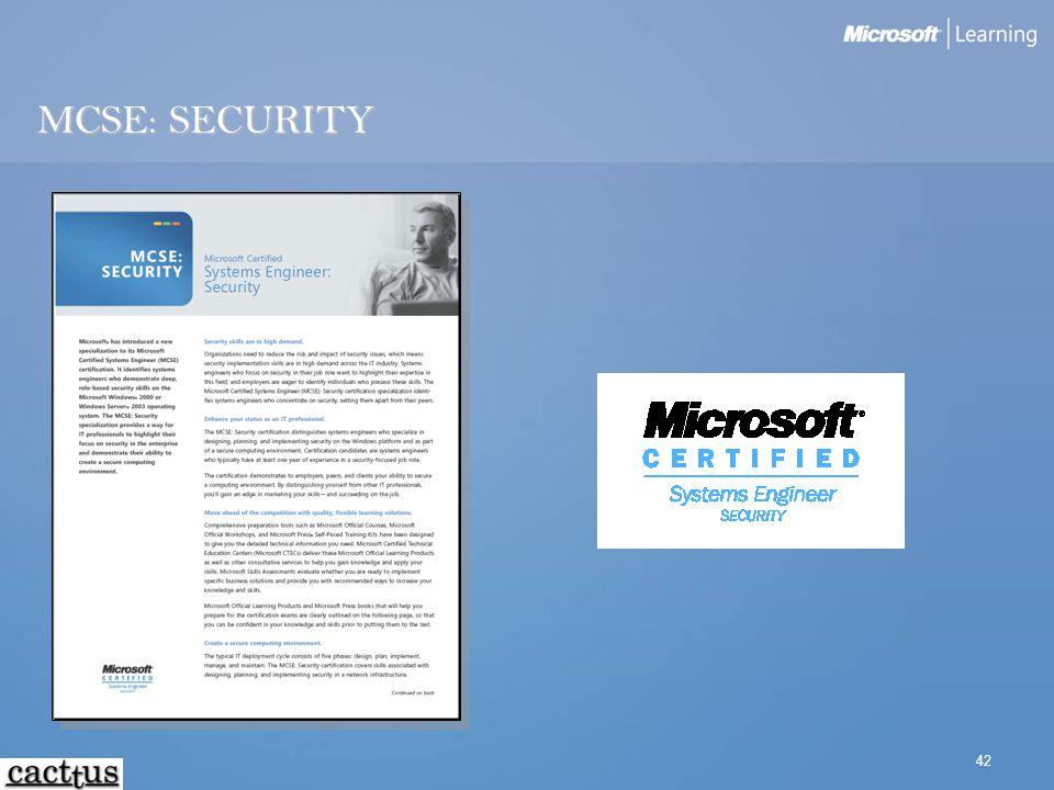 42 MCSE: SECURITY