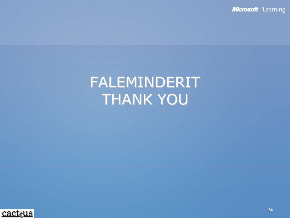 54 FALEMINDERIT THANK YOU