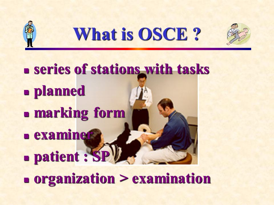 What is OSCE .