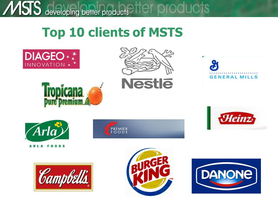 Top 10 clients of MSTS