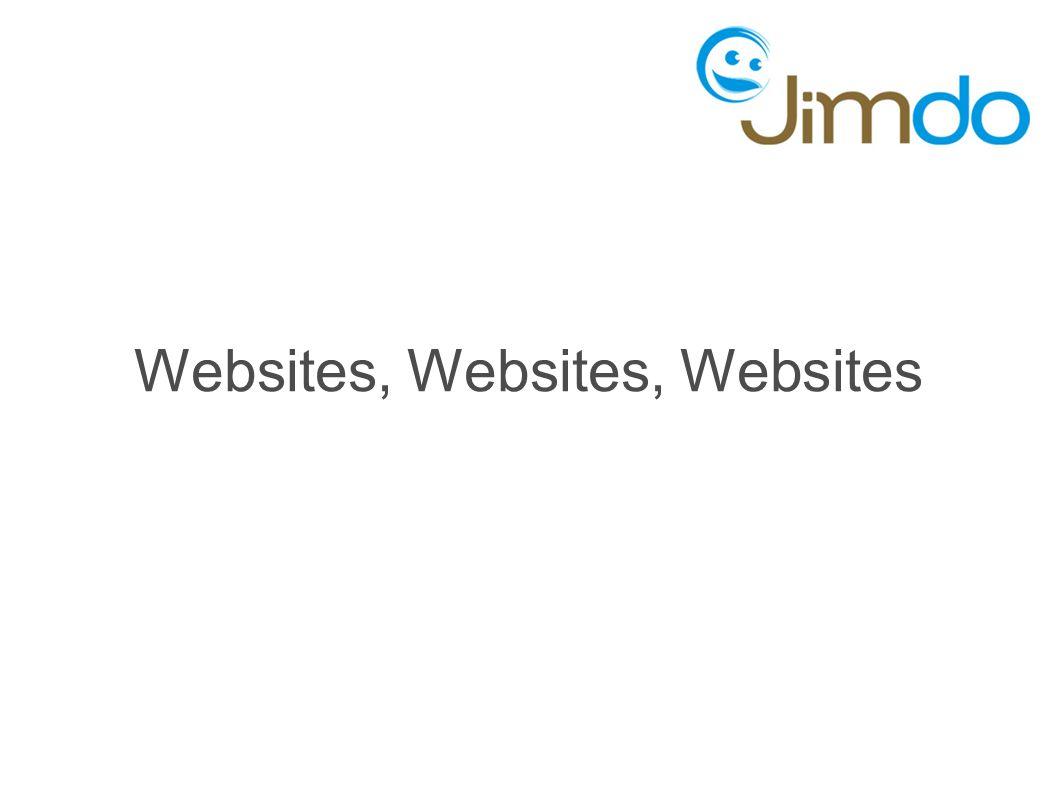 Websites, Websites, Websites