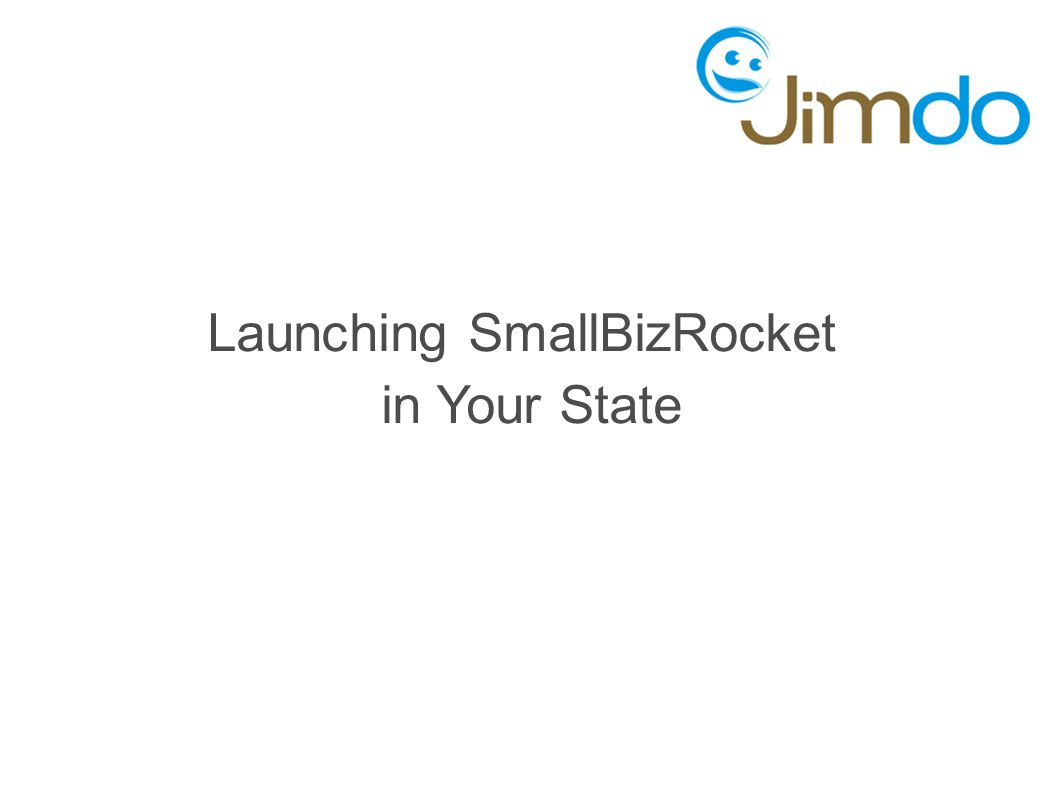 Launching SmallBizRocket in Your State