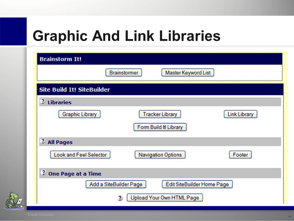 Sitesell Education 28 Graphic And Link Libraries