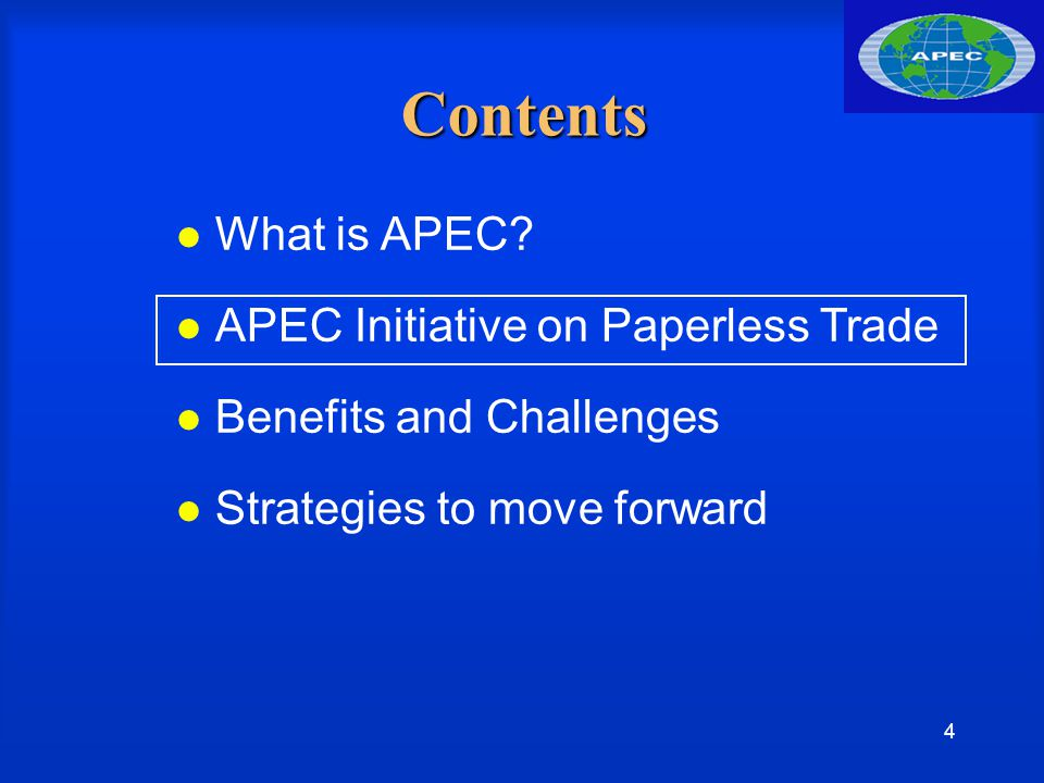 15 Contents What is APEC.