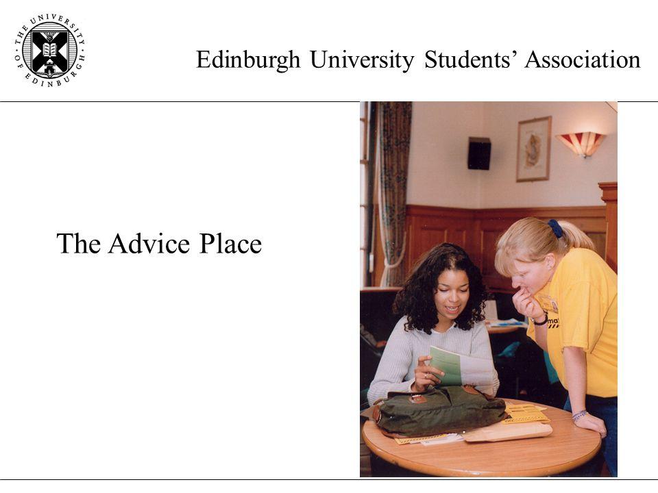 Edinburgh University Students' Association The Advice Place