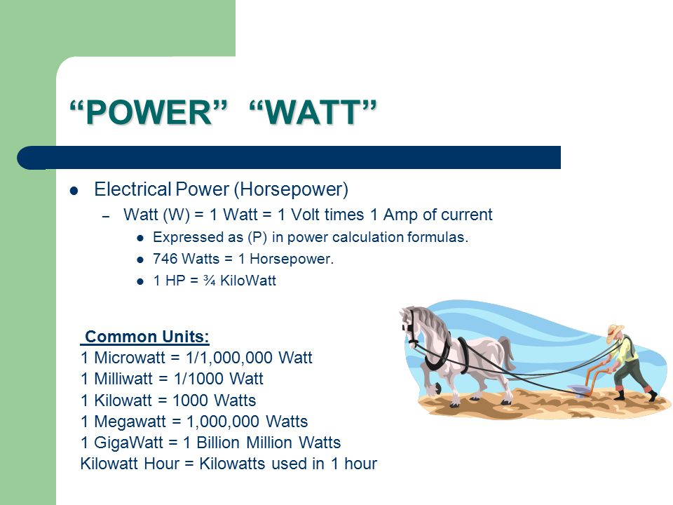Power In Back to the Future, Doc Emit Brown declares that it takes 1.21 gigawatts to travel through time.