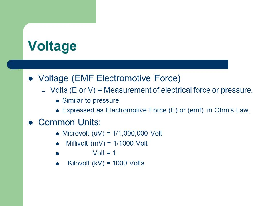 VOLTAGE TYPES VOLTAGE TYPES STATIC CHEMICAL SOLAR Squirrel Power