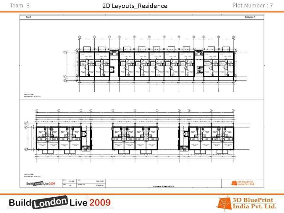 Team 3Plot Number : 7 2D Layouts_Residence