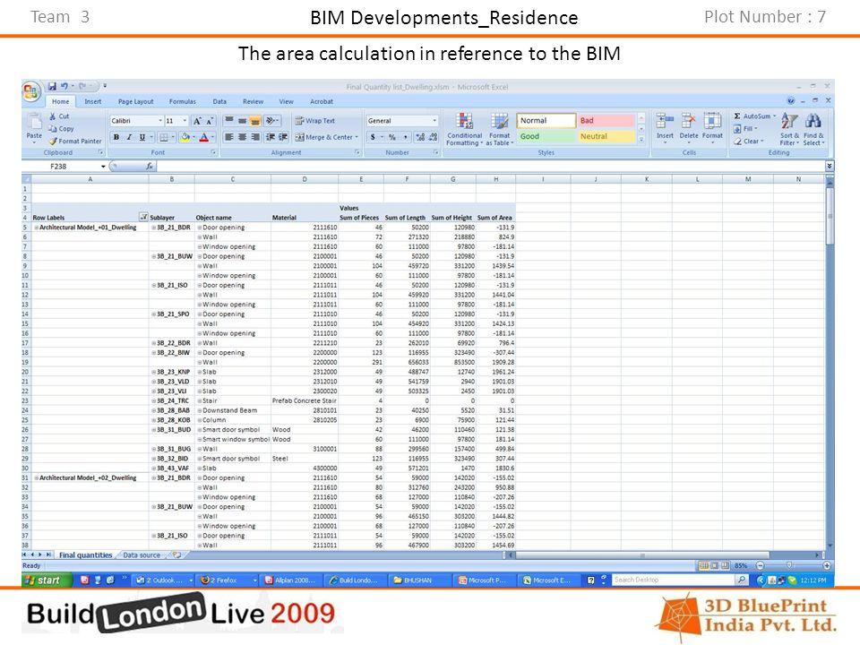 Team 3Plot Number : 7 BIM Developments_Office