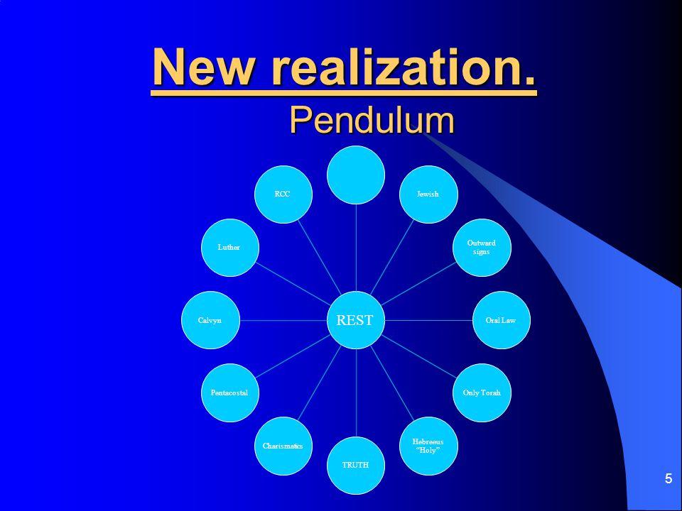 5 New realization.