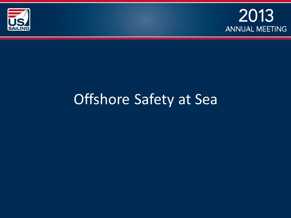 Offshore Safety at Sea