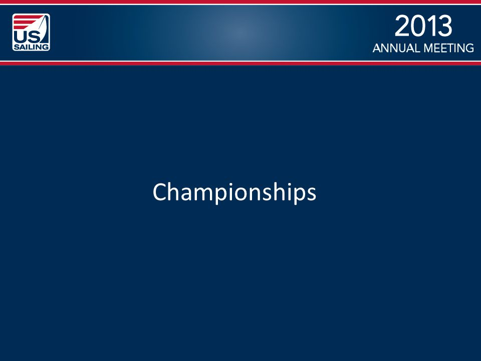 2013 Summary Junior Championships continue to flourish – More and more sailors excited about the U.S.