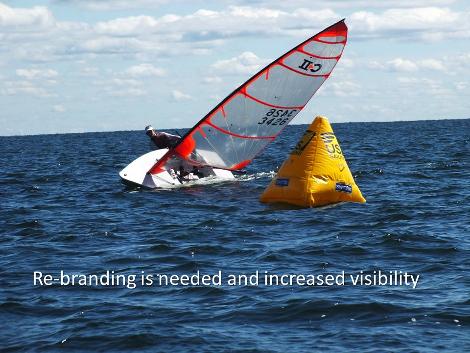 Re-branding is needed and increased visibility
