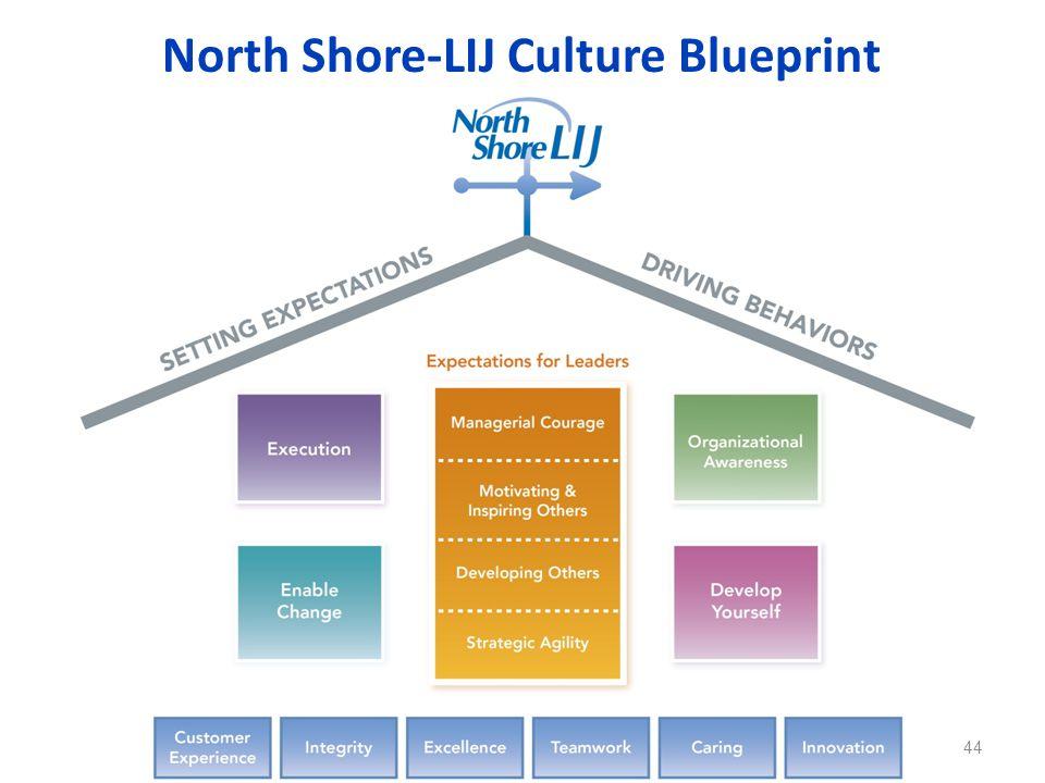 North Shore-LIJ Culture Blueprint 44