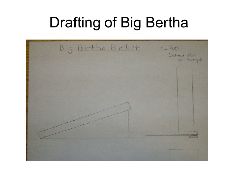 Drafting of Big Bertha