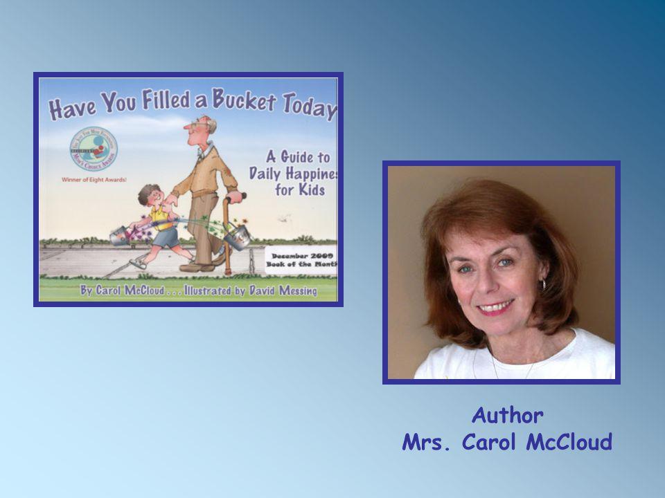 Author Mrs. Carol McCloud