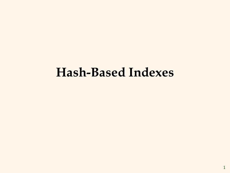 12 Linear Hashing v This is another dynamic hashing scheme, an alternative to Extendible Hashing.
