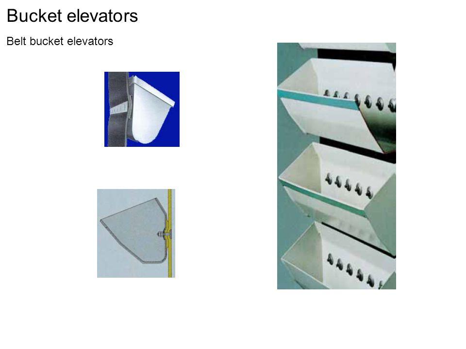 Bucket elevators Belt bucket elevators