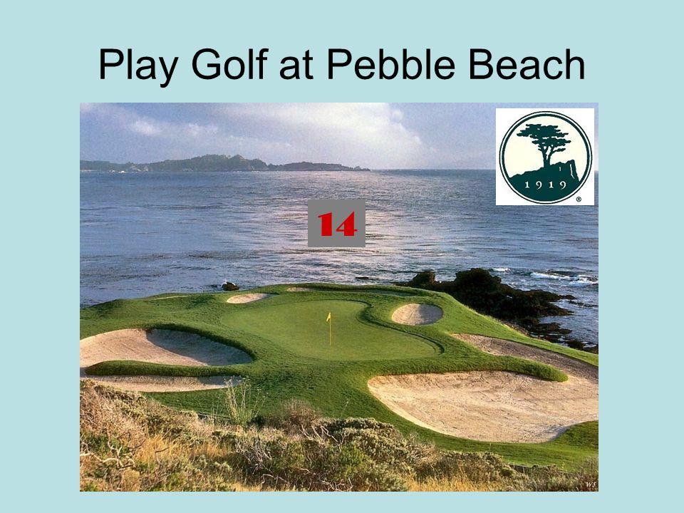 Play Golf at Pebble Beach 14