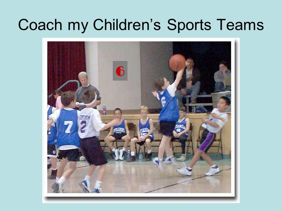 Coach my Children's Sports Teams 6