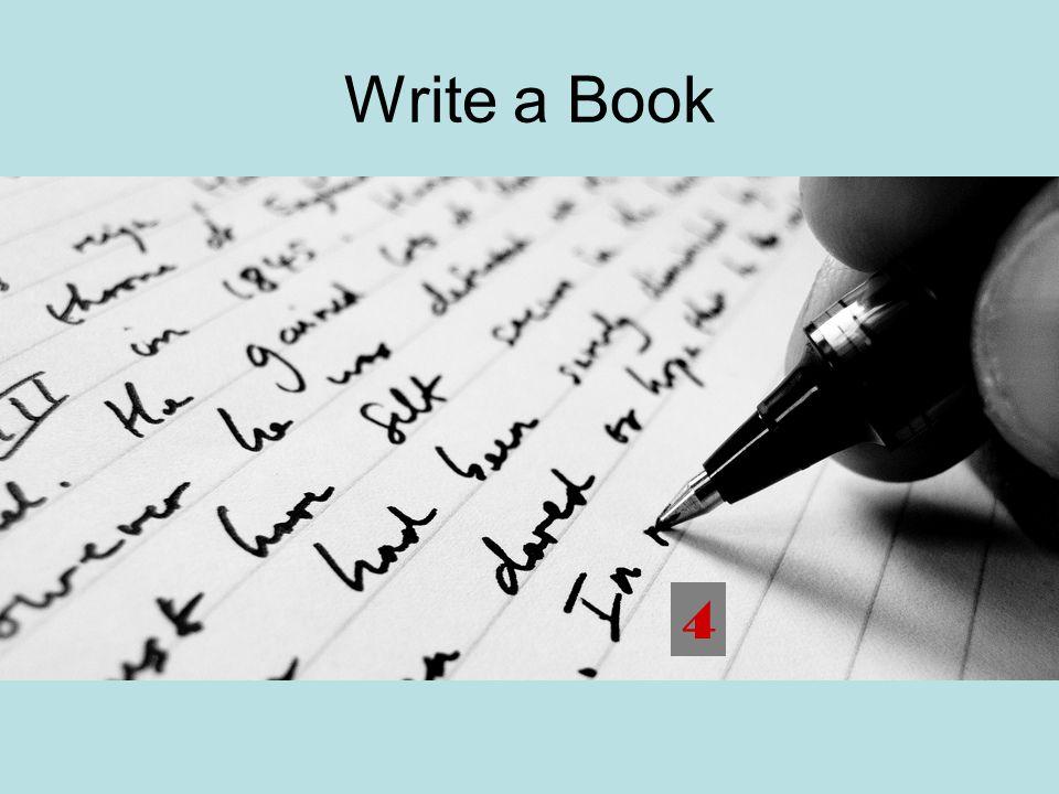 Write a Book 4