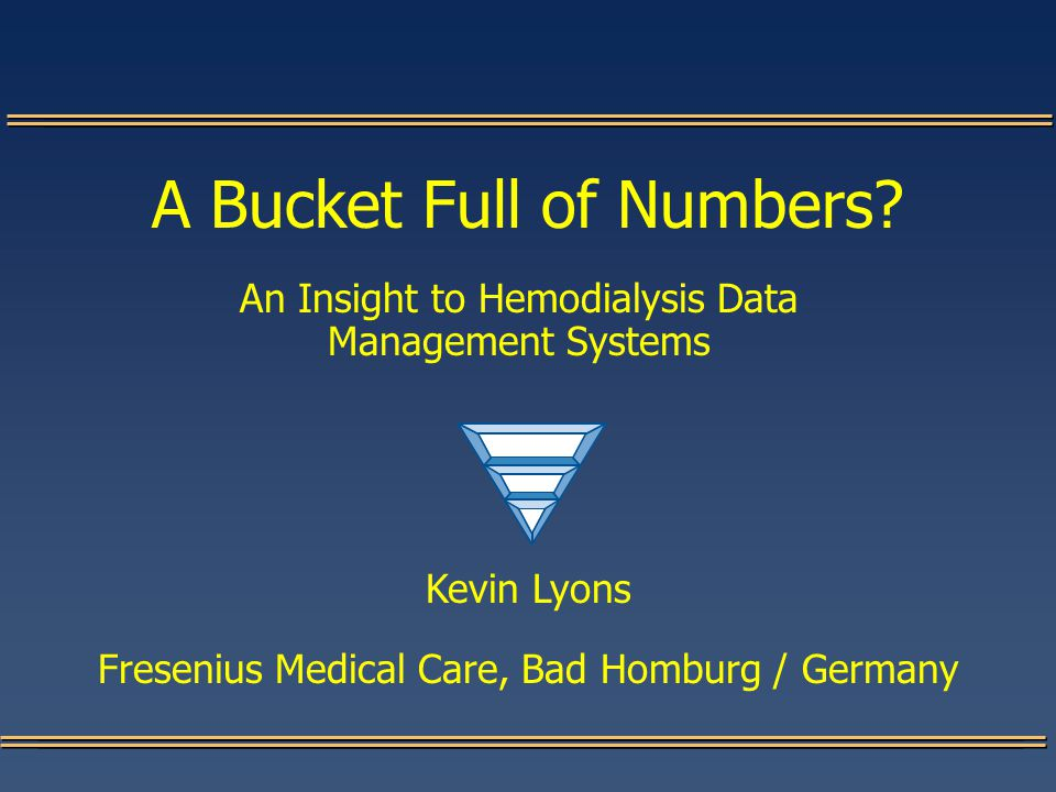 A Bucket Full of Numbers.