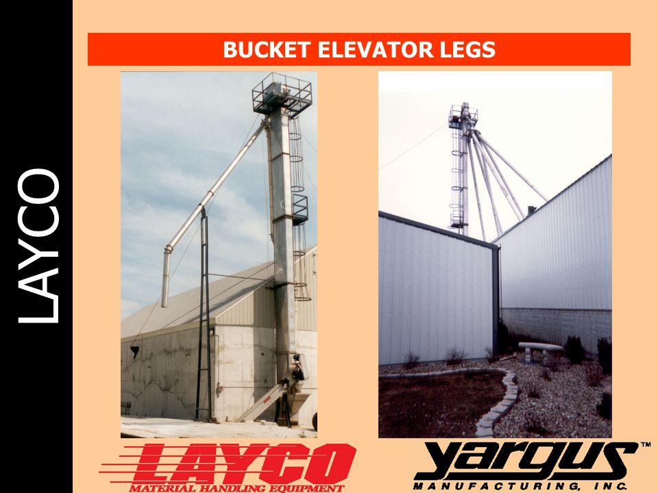 LAYCO BUCKET ELEVATOR LEGS