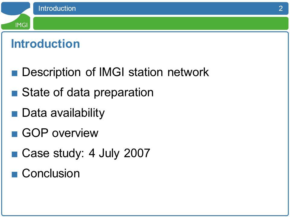 3 Description of IMGI station network Description of IMGI station network - Overview  10 Automatic weather stations (MOMAA)  6 Tipping bucket rain gauges (DAVIS)  2 Laser disdrometers (THIES)  1 Weighing rain gauge (OTT PLUVIO) Hornisgrinde Murg Valley Enz Valley