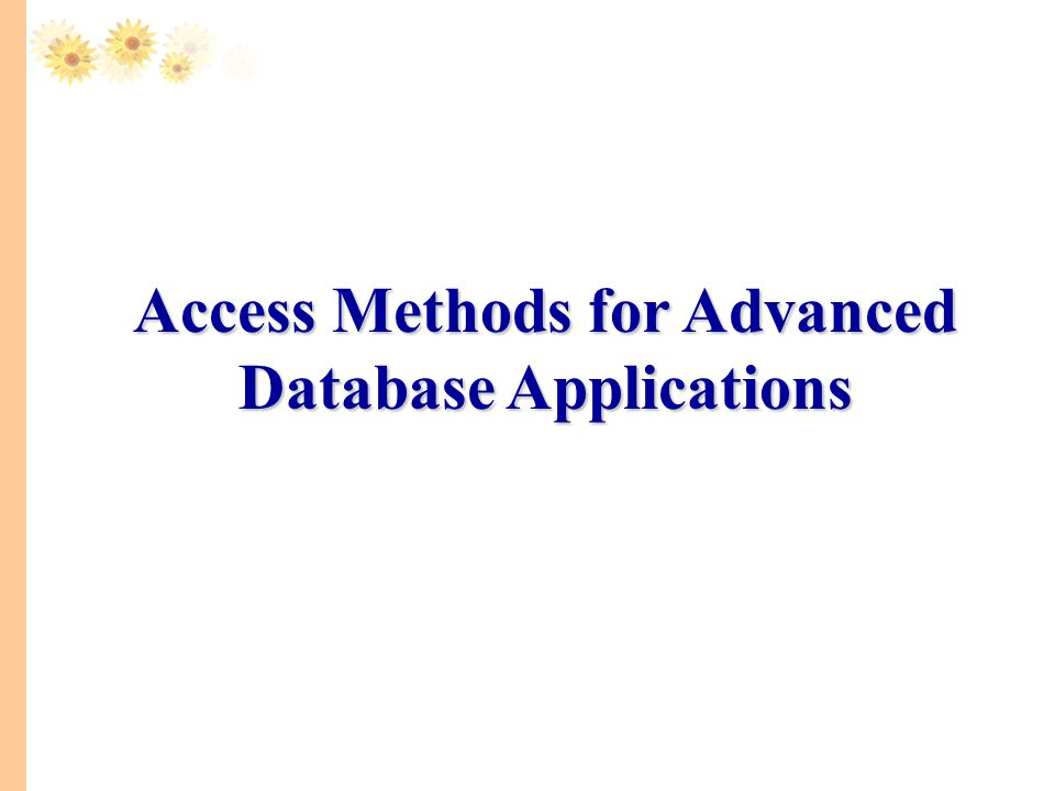 Applications Geographic Information Systems / Spatial DB Text databases XML databases Data warehouse High-dimensional databases (image, scientific) Time series Sequence databases (genomic databases) Main memory database systems