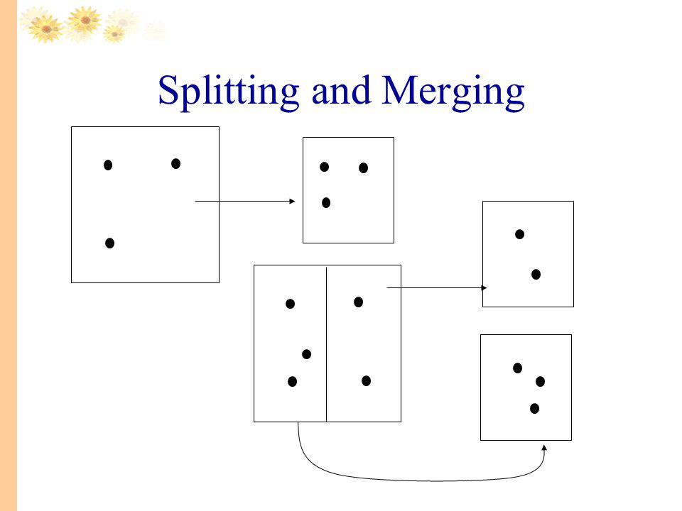 Splitting and Merging